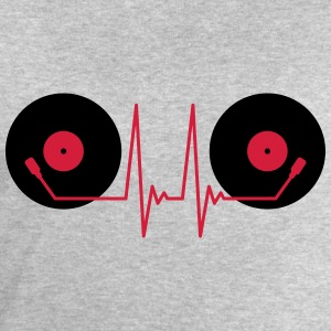 Vinyl Electro Music T-Shirts - Men's Sweatshirt by Stanley & Stella