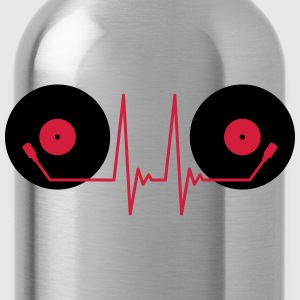 Vinyl Electro Music T-Shirts - Water Bottle