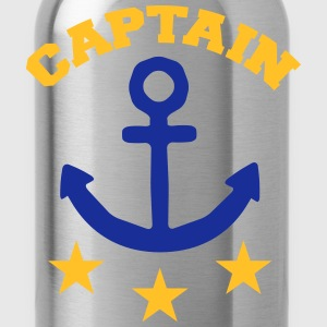 Captain T-Shirts - Trinkflasche