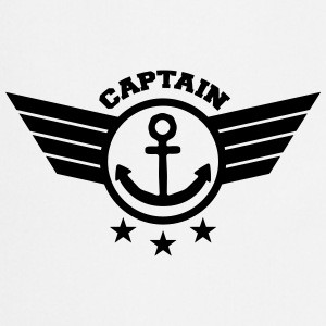 Anchor Captain T-Shirts - Cooking Apron