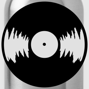 LP Vinyl T-Shirts - Water Bottle