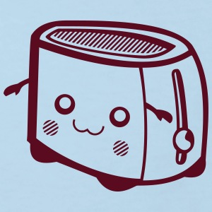 Kawaii-Designs: Toaster T-shirts - Organic børne shirt