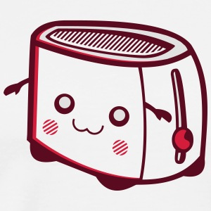 Kawaii-Designs: Toaster  Aprons - Men's Premium T-Shirt