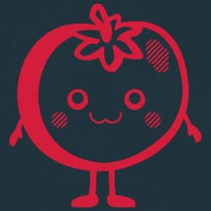 Kawaii-Designs: Tomate Tabliers - T-shirt Homme