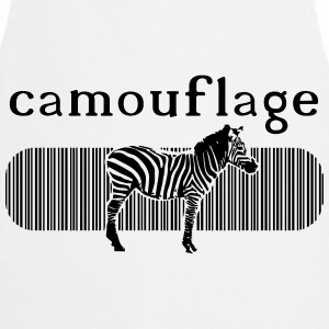 Camouflage Zebra T-Shirts - Cooking Apron