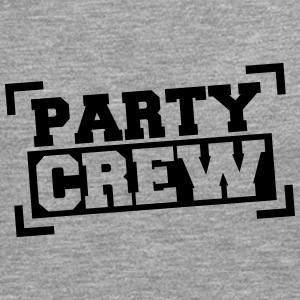 Party Crew Stamp T-shirts - Mannen Premium shirt met lange mouwen