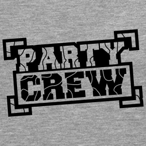 Party Crew Stamp Design Camisetas - Camiseta de manga larga premium hombre