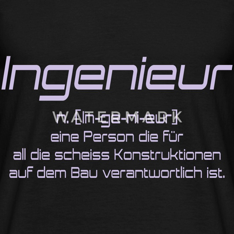 ingenieur T-Shirts - Men's T-Shirt