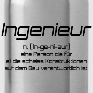 ingenieur T-Shirts - Water Bottle