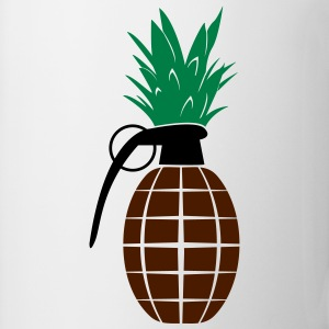 Pineapple Grenade  T-shirts - Mugg