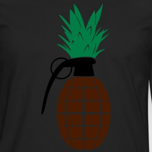 Pineapple Grenade  T-Shirts - Men's Premium Longsleeve Shirt