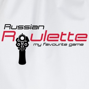 Russische roulette T-shirts - Gymtas