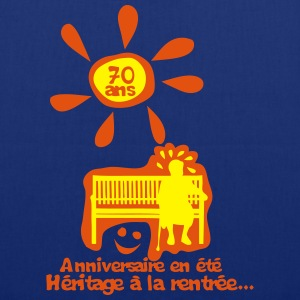 70 ans anniversaire ete heritage rentree Tee shirts - Tote Bag