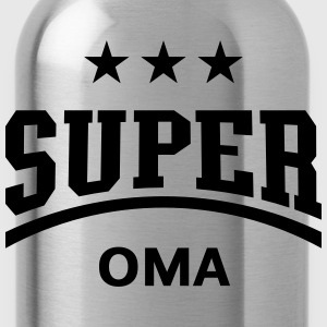 Super Oma, T-Shirt - Trinkflasche