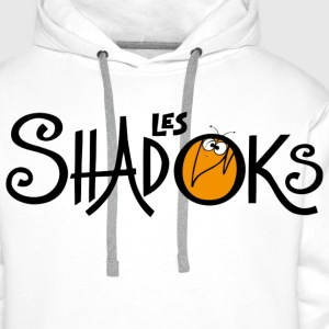Badge logo Shadoks - Sweat-shirt à capuche Premium pour hommes