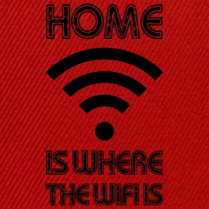 HOME is where the Wifi is - Snapback Cap