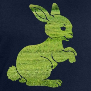 Easter bunny rabbit on the grass Sweet Child Motif T-Shirts - Men's Sweatshirt by Stanley & Stella