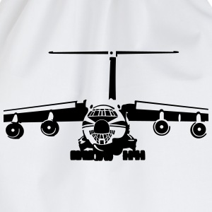IL-76 transport aircraft T-shirts - Sportstaske