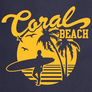 Coral Beach Surfers Heaven Tee shirts - Tablier de cuisine
