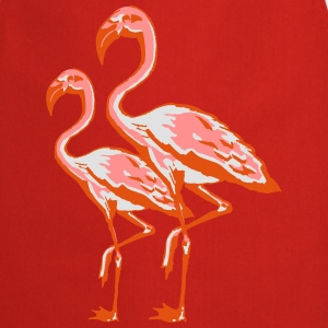 two flamingos Shirts - Cooking Apron