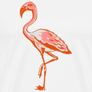 flamingo Bottles & Mugs - Men's Premium T-Shirt