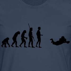 Evolution Touchdown Football T-shirts - Mannen Premium shirt met lange mouwen