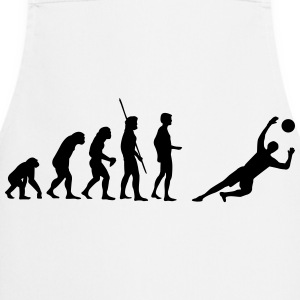 Evolution goalkeeper saves  T-Shirts - Cooking Apron