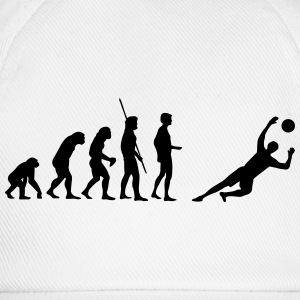 Evolution goalkeeper saves  T-Shirts - Baseball Cap