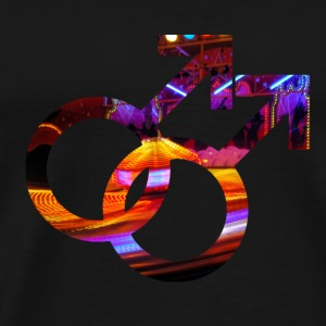 Colorful Gay Lesbian and gay symbols 05 Bags & backpacks - Men's Premium T-Shirt