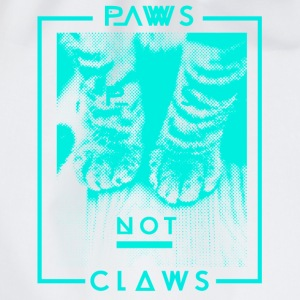 Paws not Claws Women's T-Shirt - Drawstring Bag