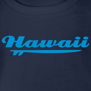 hawaii sufbrett T-Shirts - Baby Bio-Kurzarm-Body
