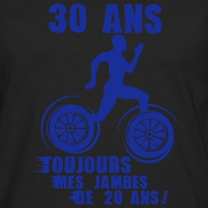 30 ans jambes course sprinter athlete 20 Tee shirts - T-shirt manches longues Premium Homme