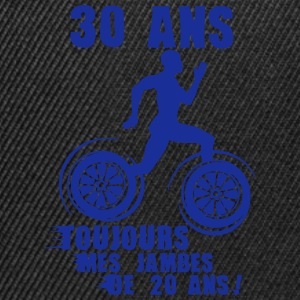 30 ans jambes course sprinter athlete 20 Tee shirts - Casquette snapback