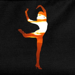 Dancer dancing in the sunset T-Shirts - Kids' Backpack