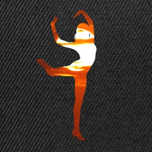 Dancer dancing in the sunset T-Shirts - Snapback Cap