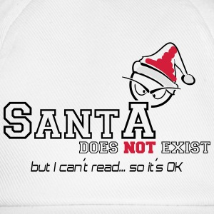 santa does not exist T-Shirts - Baseballkappe