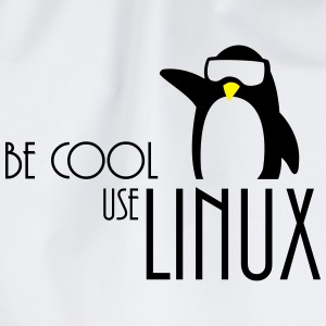 be cool use linux T-Shirts - Drawstring Bag