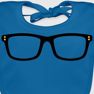 glasses Shirts - Baby Organic Bib