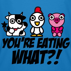 You're eating WHAT?! - T-shirt bio Homme