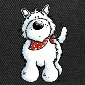 West Highland White Terrier - Westie T-Shirt - Snapback Cap