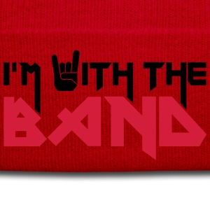 I'm with the Band Tee shirts - Bonnet d'hiver