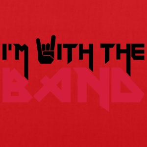 I'm with the Band Tee shirts - Tote Bag