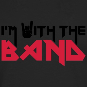 I'm with the Band T-shirts - Långärmad premium-T-shirt herr