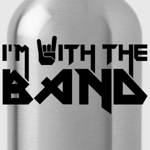 I'm with the Band T-shirts - Vattenflaska