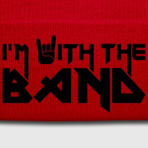 I'm with the Band T-Shirts - Wintermütze