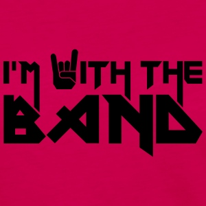 I'm with the Band T-shirts - Långärmad premium-T-shirt dam