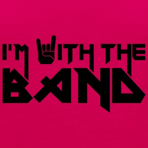 I'm with the Band Tee shirts - Débardeur Premium Femme