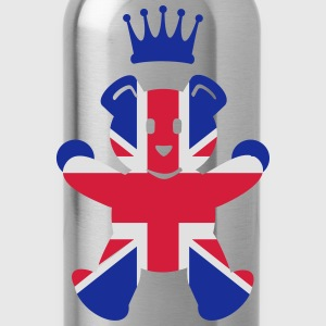UK teddy prince (3c) T-Shirts - Water Bottle