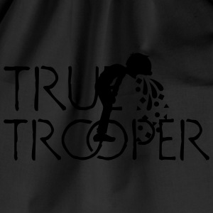 true trooper (1c) T-Shirts - Drawstring Bag