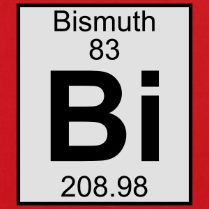 Elements 83 - bi (bismuth) - Full (white) T-shirts - Tas van stof
